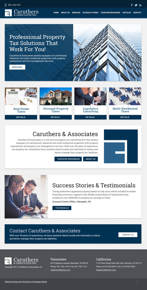 image of finacial business website concept