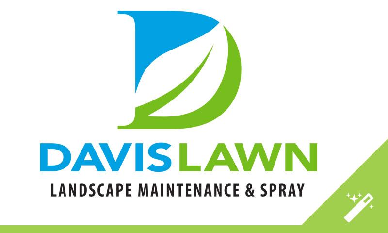 Davis Lawn Logo Design
