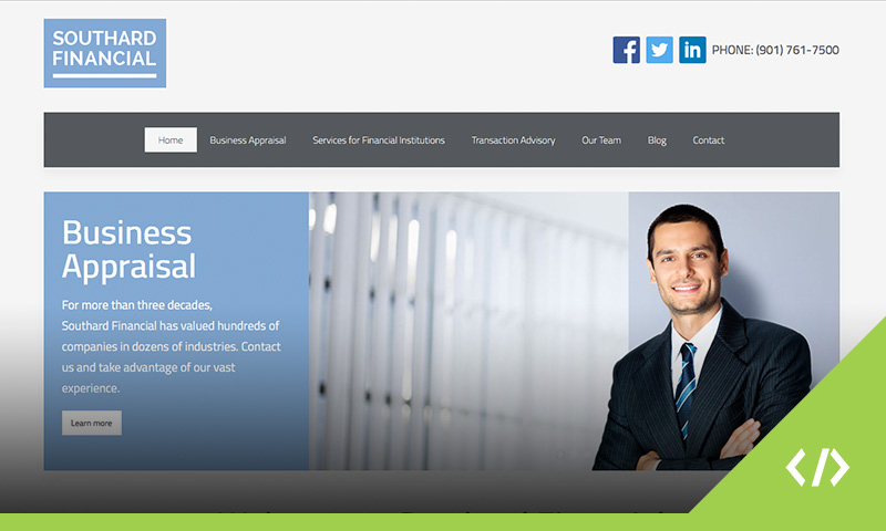 Southard Financial Website Design