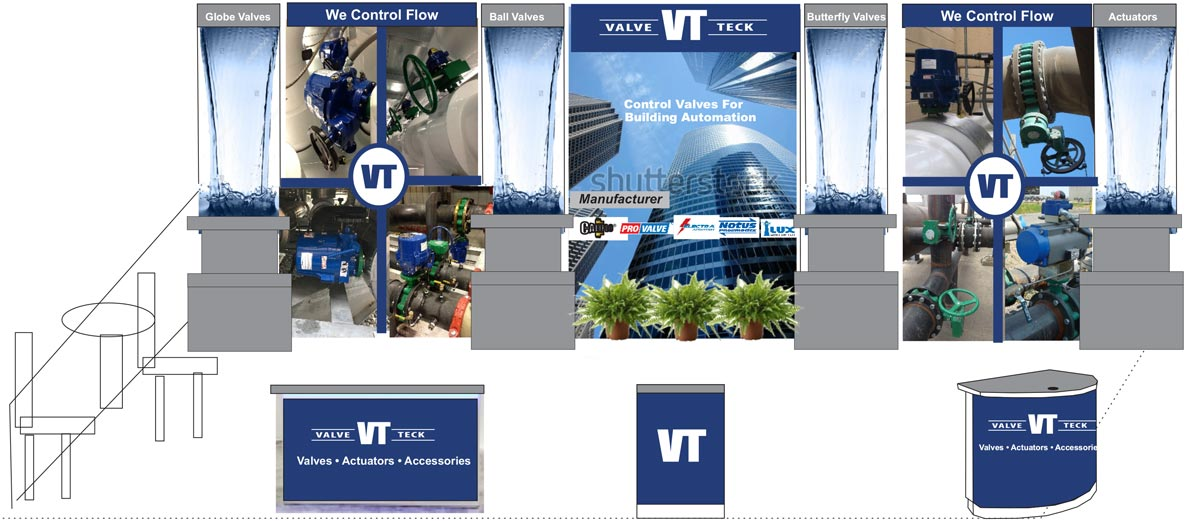 image of the draft trade show display concept